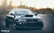 Subaru Impreza GC8 2doors fender flares set,wide body kit,ABS plastic,smooth.