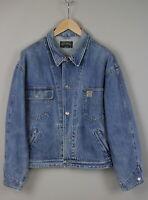 -Vintage!- RALPH LAUREN POLO COUNTRY JAMES U.S.A. Men LARGE Blue Jacket JL16599_