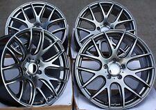 """Llantas de Aleación X 4 19"""" H Negro Cs Lite para BMW 3 + Serie 4 F30 F31 F34 F32"""