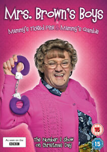 Mrs Brown's Boys: Mammy's Tickled Pink/Mammy's Gamble ( DVD (2015) NEW N SEALED