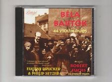 (CD) Bartók; Fuchs: Violin Duos / DRUCKER & SETZER / [Biddulph]
