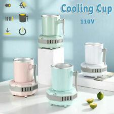 Quick Cooling Cup Smart Beverage Cooler Electric Cooler Mug Desktop Refrigerator
