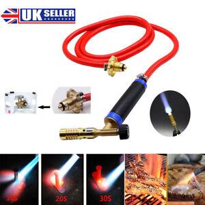 Gas Plumbing Turbo Burner Torch Propane Soldering Brazing Welding Connector