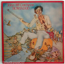 "John McCutcheon ""Howjadoo"" NM Vinyl LP + 4 Inserts Coloring Book Children Folk"