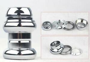 "1"" (22.2mm) Alloy Cartridge Ball Bearing Threaded Headset , Silver"