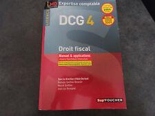 Livre droit fiscal Dcg 4 - Manuel & Applications Alain Burlaud