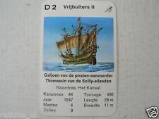 67-PIRATEN,PIRATES,D2 VRIJBUITERS II THOMASSIN VAN DE SCILLY EILANDEN GALJOEN