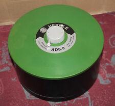 Hermle centrífuga/centrifuge rotor ad8.9 con tapa y las operaciones de rotor