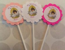 Precious Moments Baptism/Bautizo Customized Cupcake Toppers Picks 12 count