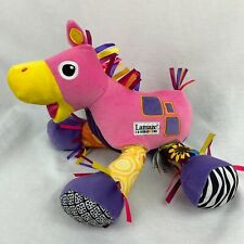 LAMAZE Horse Toy Stuffed Animal Lovey Ribbons Touch N Feel Crinkle w/ Tags  I1