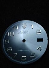 Rolex 6694 Oyster Date Precision Dial with silver Arabic indices - authentic