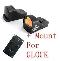 Ade Advanced Optics Compact MINI Red Dot Reflex Sight Pistol for GLOCK pistol