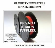 *BLACK/RED* RIBBON FOR REMINGTON ANTIQUE TYPEWRITERS *MANUAL REWIND+INSTRUCTIONS