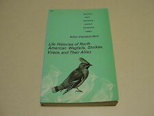 Bird Watching - Life Histories of North American Wagtails SHRIKES Waxwings PIPIT