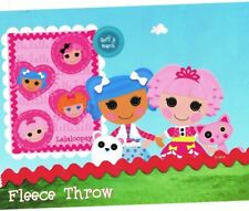 Lalaloopsy Sew Cute 46x60 Soft Fleece Throw Blanket