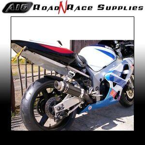 Suzuki GSXR 600 K1-K5 2000-2005 A16 Moto GP Exhaust in Carbon & Removable Baffle