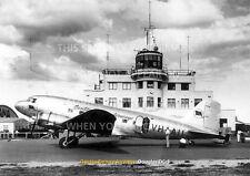 QANTAS DC-3 AT ARCHERFIELD 1948 DC3 A3 POSTER PRINT PICTURE PHOTO IMAGE