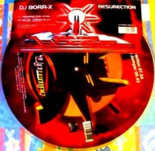 "12"" - DJ Borr-X - Resurrection (MAKINA) PICTURE DISC MADE IN SPAIN 2002 LISTEN"