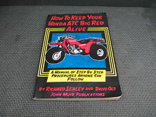 "ATC250ES ATC 250ES "" How to Keep Your Big Red Alive "" service manual repair book"