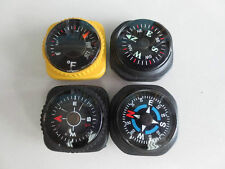 3 COMPASS + 1 THERMOMETER  WITH HOLD FOR 20MM WATCH BAND -493