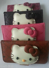 3 D Hello Kitty Flip Wallet Leather Cover Case Pouch Skin for iPhone 5