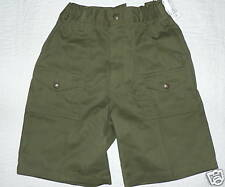 OFFICIAL BOY SCOUT UNIFORM Cargo SHORTS sz 10 NEW NWT