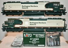 BNSF 9647 SD70MAC Merger Scheme  Kato HO  37-6383 F26.5