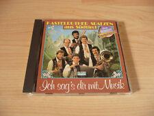 CD Kastelruther Spatzen - Ich sag`s dir mit Musik - 1985 - Rare incl. Ein Kind d