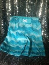 TARGET CHEROKEE BLUE CLOUDS XS/TP Swim BATHING SUIT Trunks Size 4T-5T Boy's NEW