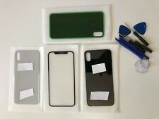 IPhone X / 10 Front Outer &  Rear Glass Screen Lens Replacement Part With Tools