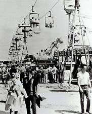 1965 Wire Photo cable car sky lift at the Nebraska State Fair in Lincoln
