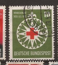1953 Red Cross fine used, Michel 164.