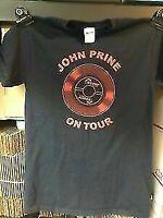 Official John Prine Oh Boy On Tour Black T Shirt