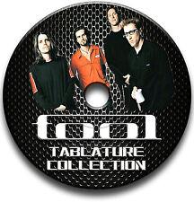 OUTIL LOURD GUITARE ROCK TABLATURE TABLATURE LIVRE MUSICAL COURS CD DU LOGICIEL