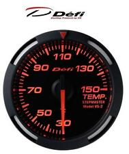 Defi Racer 52mm Car Oil Temperature Gauge - Red JDM Stepper Motor