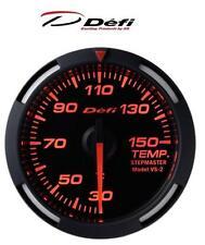 Defi Racer 52mm Car Oil Temperature Gauge - Red - JDM Style Stepper Motor