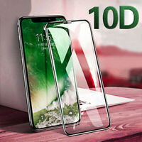 Shockproof 10D Tempered Glass Screen Film for iPhone Xs/Xs Max/XR/X/6S/7 Plus/8