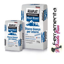 STUCCO Aguaplast MONT BLANC PROFESSIONAL  RAPIDO SPESSORATO TRASPRIRANTE  5 KG