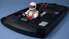 PVC TOURING Body Interior Cockpit Driver Parts For HSP HPI 1:10 RC Draft Car