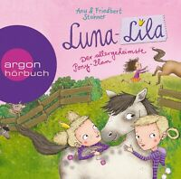 LUNA-LILA - (2)DER ALLERGEHEIMSTE PONY-PLAN  2 CD NEW