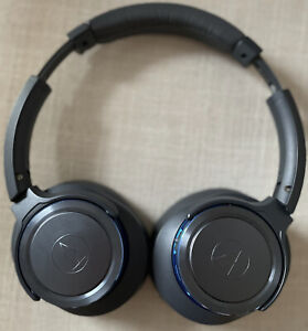 Audio-Technica - SOLID BASS ATH-WS660BT Wireless Over-the-Ear Headphones