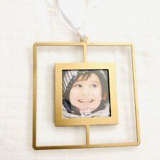 "Photo Frame Ornament Metal 2.5"" X 2.5"" Christmas Holiday Stonebriar Target Decor"