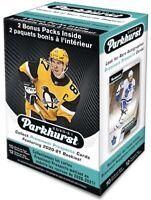 2020-21 Parkhurst NHL Hockey Blaster Box - 12 Packs, 10 Cards Per Pack - Rookies