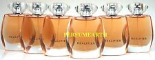 6 Pieces Realities By Liz Claiborne 1.6/1.7oz. Edp Spray For Women New And Unbox