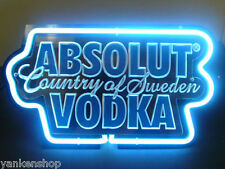 "Sd371 Absolut Vodka Beer Bar Pub Shop Display Neon Light Acrylic Sign 12.5""x7"""