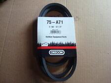 "1/2 X 73"" Industrial Polyester Cord Belt A71  4L-730,  PIX belt Made for OREGON"