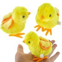 Wind up Hopping Jumping Chicken Clockwork Walking Toy Boys Girls UK LrJNE sdRQv