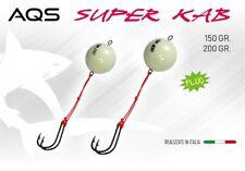 Artificial Súper Kab Fluorescente 150 Gr Pulpo Kabura Traína Vertical Lure