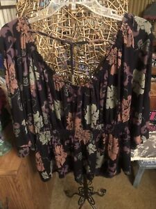 Free people women's top size medium new without tags