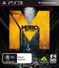Metro Last Light PS3 Game USED